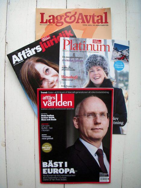 Affärstidningar